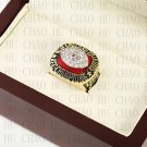1985 New England Patriots AFC FOOTBALL Championship Ring 10-13 size