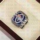 Team Logo wooden Case 2013 Denver Broncos AFC Football world Championship Ring 10-13 size