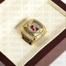 Team Logo wooden Case 2011 Alabama Crimson Tide NCAA Football National Championship Ring 10-13 size