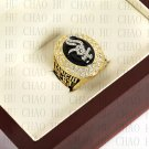 Team Logo wooden Case 2005 Chicago White Sox world Series Championship Ring 10-13 size solid back
