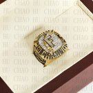 Team Logo wooden Case 1997 FLORIDA MARLINS world Series Championship Ring 10-13 size solid back