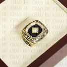 Team Logo wooden Case 1985 KANSAS CITY ROYALS world Series Championship Ring 10-13 size