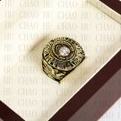 Team Logo wooden Case 1970 BALTIMORE ORIOLES world Series Championship Ring 10-13 size
