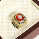Team Logo wooden Case 1982 St. Louis Cardinals world Series Championship Ring 10-13 size solid back