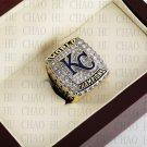 Team Logo wooden Case 2015 KANSAS CITY ROYALS world Series Championship Ring 10-13 size