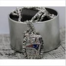 2016 New England Patriots FOOTBALL Championship Necklace Copper solid high quality one