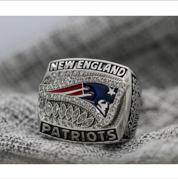 2011 New England Patriots NFC FOOTBALL Championship Ring 7-15 Size Copper