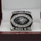 2004 PHILADELPHIA EAGLES NFC Football world Championship Ring 7-15 size solid back