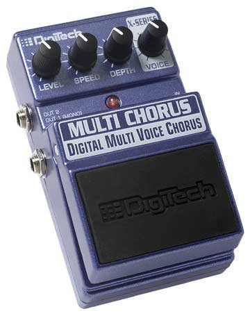 Digitech Multi Chorus Multi Voice Chorus with up to 16 Voices EFX Pedal   www.tmscad.ecrater.com