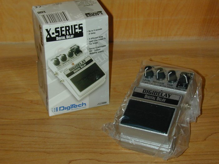 Digitech DigiDelay 4 Second Digital Delay EFX Pedal  www.tmscad.ecrater.com
