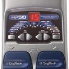 Digitech RP50 Guitar Modeling Processor w/ Power Supply   www.tmscad.ecrater.com