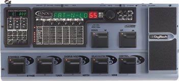 Digitech BNX3 Multi Modeling Digital 8 Track Bass Workstation w/ Power Supply