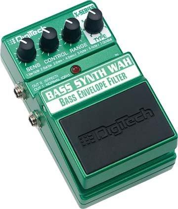 Digitech Bass SynthWah EFX Pedal   www.tmscad.ecrater.com