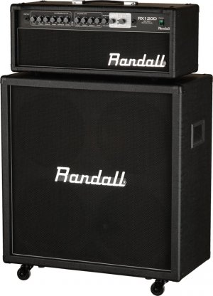 Randall RX120DHS 120W Half Stack w/RX412 Cabinet & RX120D Head www.tmscad.ecrater.com