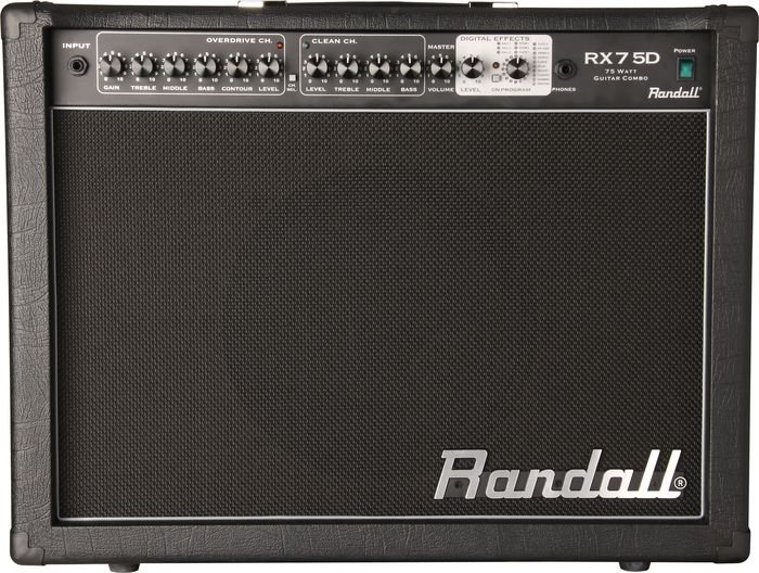 Randall RX Series RX75D 75W 1x12 Guitar Combo Amp FREE SHIPPING www.tmscad.ecrater.com