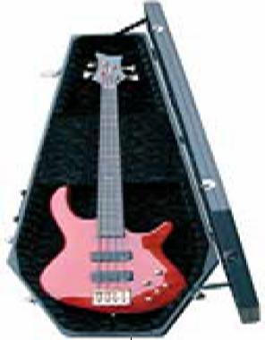 Coffin Case Standard Series Bass Guitar Case Universal Fit   www.tmscad.ecrater.com