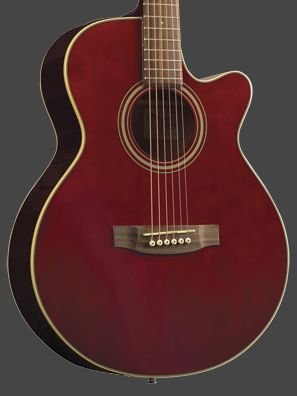 Takamine EG260C-WR Wine Red FXC Artist C/A TP4T Pre Amp FREE SHIPPING www.tmscad.ecrater.com