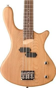 Washburn T12 Natural Satin Bass Guitar P Style Pickups www.tmscad.ecrater.com
