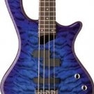Washburn T14Q Trans Blue Bass Guitar Maple Neck FREE SHIPPING www.tmscad.ecrater.com