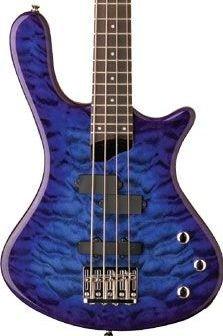 Washburn T14Q Trans Blue Bass Guitar Maple Neck FREE SHIPPING www.tmscad.ecrater.com