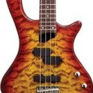 Washburn T14Q Tobacco Sunburst Bass Guitar Maple Neck P&J Pickups  www.tmscad.ecrater.com