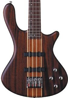 Washburn T24NMK Natural Matte Bass Neck Thru Mahogany FREE SHIPPING www.tmscad.ecrater.com