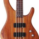 Washburn Force4K Natural Matte Bass w/ GB6 Case Bubinga Body FREE SHIPPING www.tmscad.ecrater.com