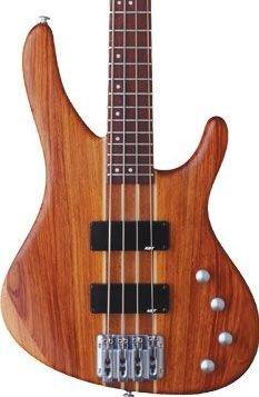 Washburn Force4K Natural Matte Bass w/ GB6 Case Bubinga Body FREE SHIPPING www.tmscad.ecrater.com