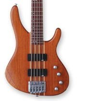 Washburn Force5K Natural Matte Bass w/ GB6 Case Bubinga Body FREE SHIPPING www.tmscad.ecrater.com