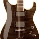 Washburn X50PROFE Flame Maple Trans Black w/Case FREE SHIP String Thru www.tmscad.ecrater.com