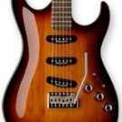 Washbrun X33 Gloss Tabacco Sunburst w/ Case FREE SHIP Carved Body  www.tmscad.ecrater.com