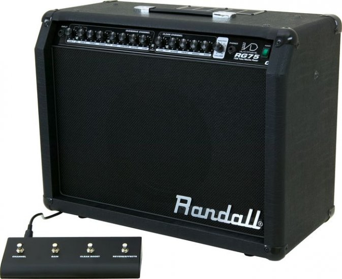 """Randall RG75G3 Series Guitar Combo Amp 12"""" Celestion G12P-80  FREE SHIPPING  www.tmscad.ecrater.com"""