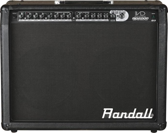 "Randall RG200D G3 220w MOSFET 2 - 12"" Celestion G12P-80 FREE SHIPPING  www.tmscad.ecrater.com"