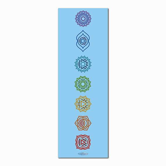 Connection Printed Yoga Mat Thick 5 mm 24 x 72 Pilates Decor Rug Gift Fitness Exercise Meditation