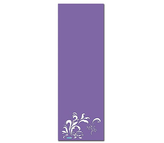 The Joy Printed Yoga Mat Thick 5 mm 24 x 72 Pilates Decor Rug Gift Fitness and Exercise Meditation
