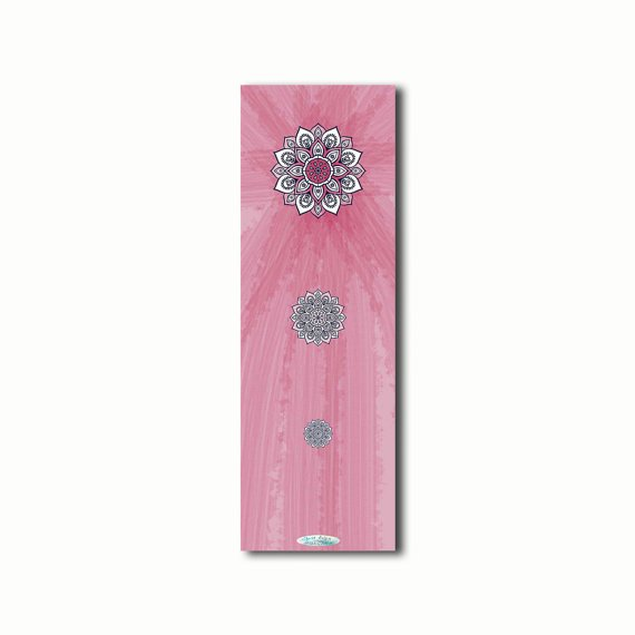 The Bless Yoga Pilates Mat Bridesmaid 5 mm Gift Accessories 24 x 72 Meditation Fitness Lifestyle