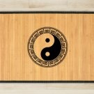 23.6X63 Yin Yen bamboo natural rug housewarming play   brown mat bedroom and great gift meditation