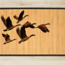 47.2X70.9 goose bamboo natural rug housewarming play  brown mat bedroom and great gift ideas