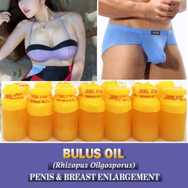 10 x 10ml BULUS TURTLE OIL Penis Enlargement Grow Longer Thicker Plump Sexy Breast