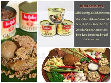 3 x Canned Gudeg Bu Tjitro Original Taste Unique Javanese Traditional Dish Foods
