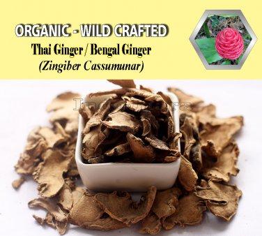 2 Lb/908g Cassumunar Ginger Bengal Ginger Thai Ginger PLAI Zingiber Cassumunar Organic Wild Crafted