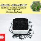 3 Oz / 84g Basil Seeds Sweet Basil Great Basil Saint-Joseph's-wort Ocimum Basilicum ORGANIC
