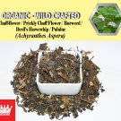 2 Lb / 908g Chaff-flower Prickly Chaff Flower Devil's Horsewhip Burweed Achyranthes Aspera