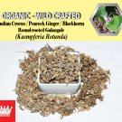 3 Oz / 84g Indian Crocus Peacock Ginger Round-rooted Galangale Blackhorm Kaempferia Rotunda