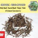 3 Oz / 84g Holy Basil Sacred Basil Tulasi Tulsi Ocimum Sanctum Organic Wild Crafted Fresh