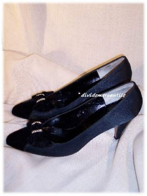 Satin & Velvet Evan Picone Heels Gorgeous Shoes