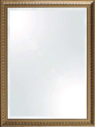 Mirror Dynamics Romanesque Gold Beveled Mirror