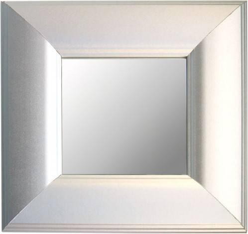 Mirror Dynamics Metallic Silver Finish Mirrors- Set of 3