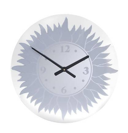 Mirror Dynamics Sunburst Clock