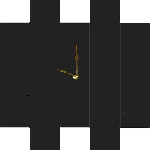 Mirror Dynamics Black Mirror Wall Clock